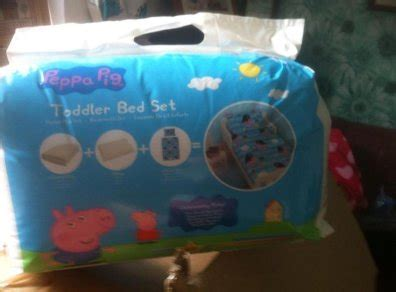 George Pig Toddler Bed Set Peppa Pig George Pirate Junior Cot Bed Toddler Bed Set For Sale In Enniscorthy Wexford From Maz73