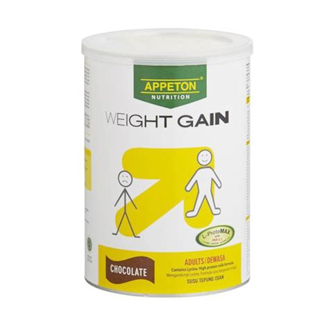 Appeton Weight Gain Rm appeton weight gain chocolate 450g farmasi park city