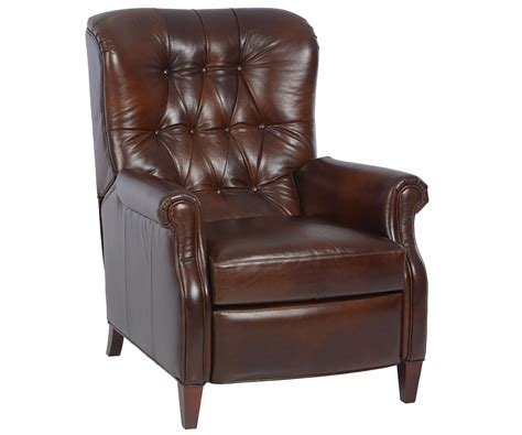 leather chairs recliners wentworth narrow tufted leather recliner leather recliners