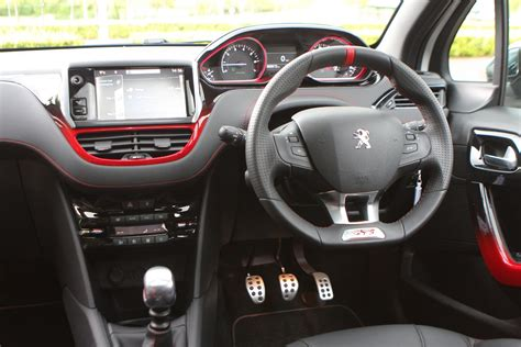 peugeot 208 gti inside peugeot 208 gti 2012 features equipment and