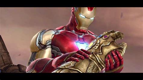 marvel future fight avengers endgame thanos boss battle