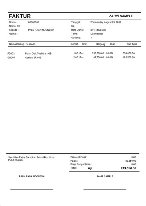 membuat faktur pajak otomatis transaksi realtime software akuntansi terbaik zahir