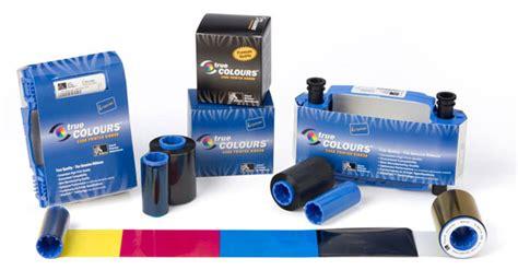 Tinta Printer Zebra ribbons para impresora de credenciales zebra consumibles