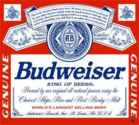 printable budweiser label giant budweiser beer label decal