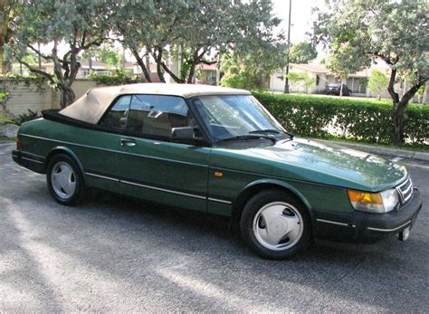 saab convertible green just a car geek 1994 saab 900 turbo