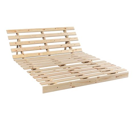 Structure Futon by Structure Futon En Bois Naturel