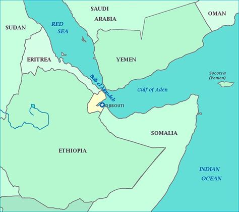 middle east map gulf of aden 25 best ideas about djibouti map on africa