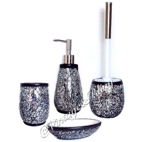 Grey Bathroom Accessories Set Silver Bathroom Accessories Set Grey Marble Bathroom Accessory Election