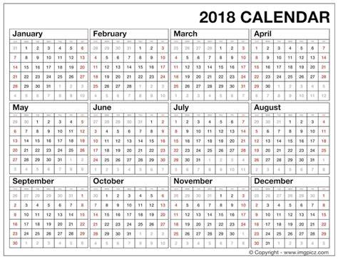 printable calendar year 2018 2018 calendar full 2018 calendar free download happy new