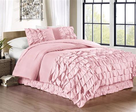 pink twin size comforter pink and green bedding sets ease bedding with style