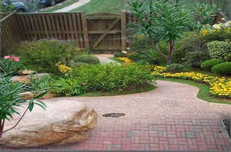 Landscape design ideas for small backyard images