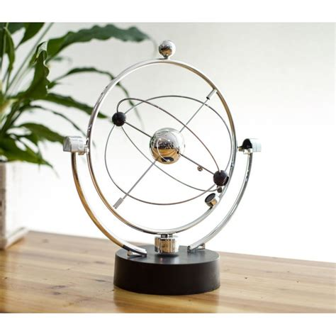 perpetual motion desk toys office desk toy gift revolving cosmos perpetual motion