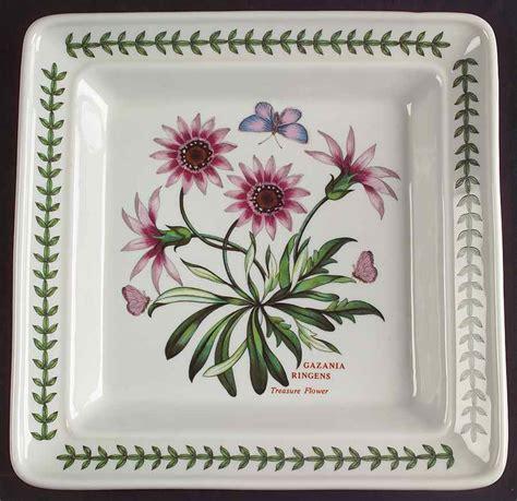 Portmeirion Botanic Garden Patterns Portmeirion Botanic Garden Treasure Flower Square Plate 5491366 Ebay