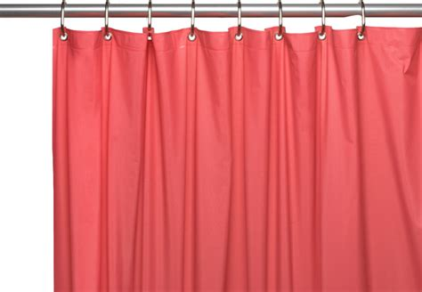 shower curtains with magnets 3 gauge vinyl shower curtain liner w weighted magnets and