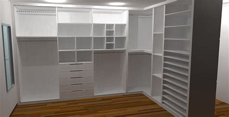 Closet De by Interiores 3d Closet Casal