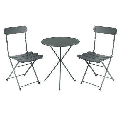 table chaise de jardin pas cher table et 2 chaises de jardin pas cher l univers du jardin