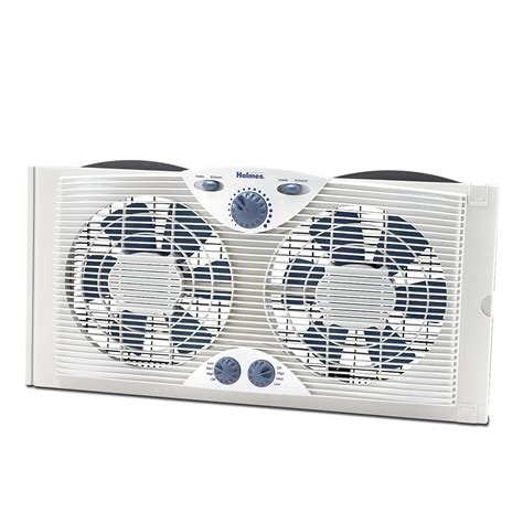 174 Dual Blade Window Fan With Comfort