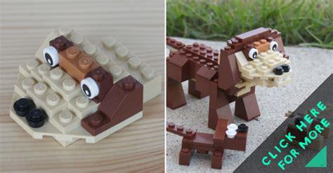 lego dog house instructions how to make lego dog building instructions diy crafts handimania
