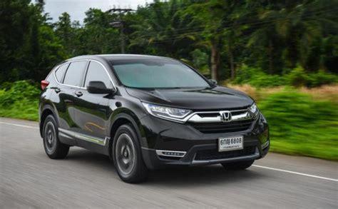 Comfortable 4x4 Honda Cr V 1 6 Diesel Turbo 2017 Review Bangkok Post Auto
