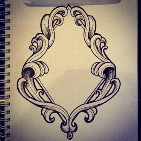 tattoo frame design octopus ink