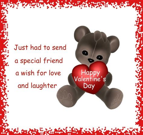 happy valentines day for friend s day cards