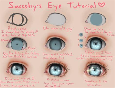 watercolor tutorial eyes eye tutorial by saccstry on deviantart