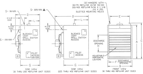 dayton heater wiring diagram dayton sterling qvf gas unit heater information