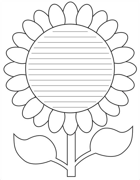 Flower Template Pdf sle flower temlate 6 documents in pdf