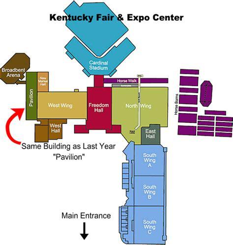 map kentucky expo center national bird show home
