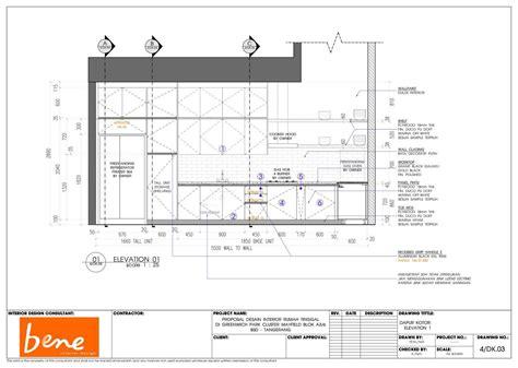 Ruang Dapur Furniture Proyek Nego Harga Bahan Kayu Jati membangun rumah tahap 9 gambar kerja arsitag