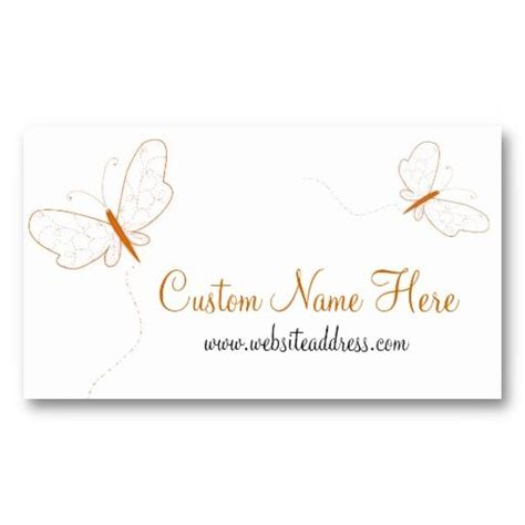 butterfly card template free 17 best images about business cards animal non pet on