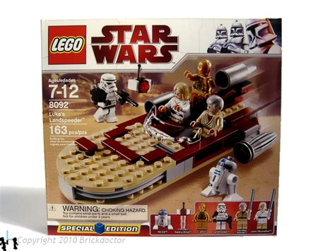 Lego 8092 Wars Lukes Landspeeder review 8092 luke s landspeeder lego wars eurobricks forums