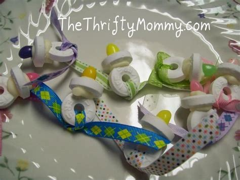Pacifiers Baby Shower Favor by Diy Favors Diy Do It Yourself Pacifier Baby Shower