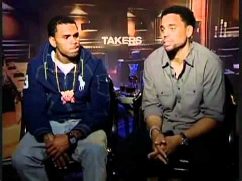 michael ealy dancing chris brown and michael ealy exclusive takers interview