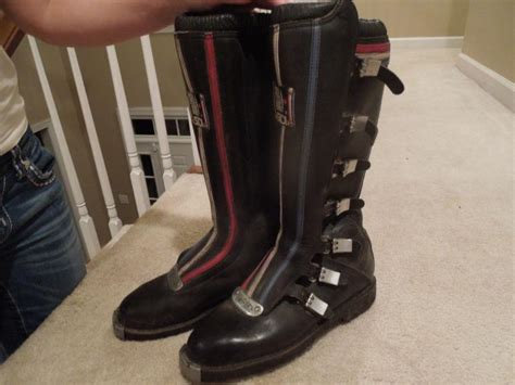 buy motocross boots find vintage 1973 sidi full bore mx boots size 12