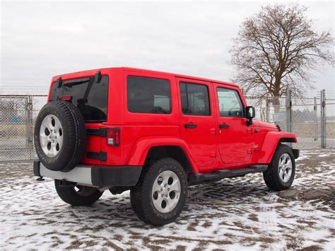 jeep wrangler unlimited 2015 review 2015 jeep wrangler unlimited sahara canadian