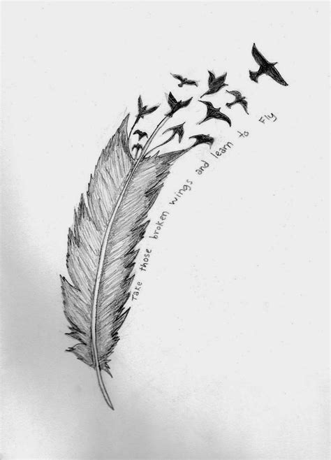 hawk feather tattoo designs 65 eagle feathers tattoos designs with meanings