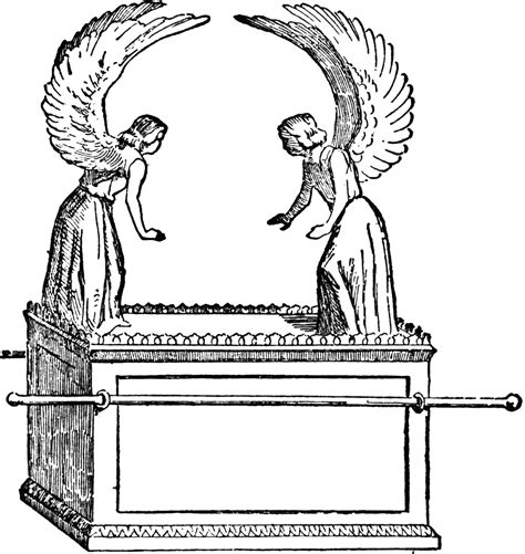 David And The Ark Of The Covenant Coloring Page
