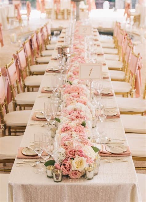 20 cute ideas for a pink wedding