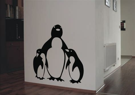 penguin wall stickers stickonmania vinyl wall decals penguins sticker