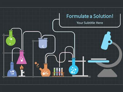 template ppt laboratory free organic molecules a powerpoint template from