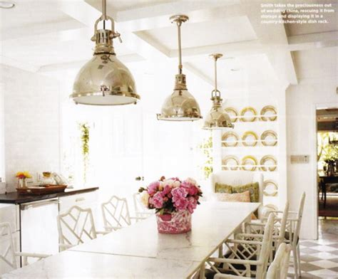 Kitchen Table Pendant Lighting White Marble Top Dining Table Cottage Kitchen Smith Home