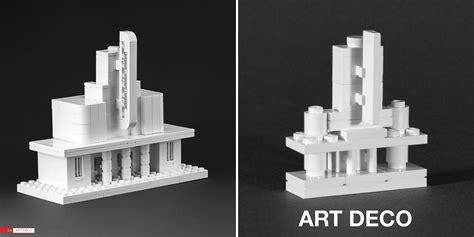 Prairie Home Floor Plans nanoscale models of the lego architect brick architect