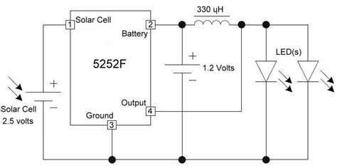 integrated light circuit running 3 volt devices from 1 2 volt batteries electronics for artists