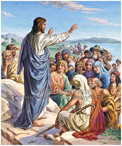 imagenes de jesus predicando christ preaching