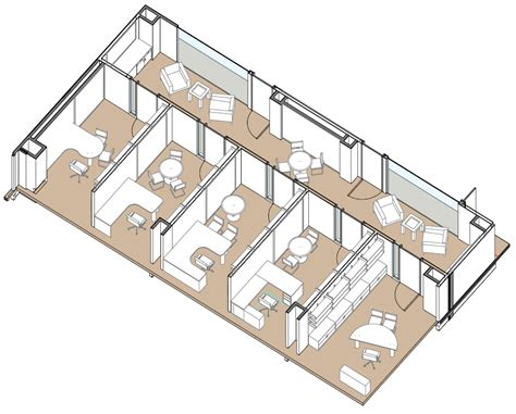 Floorplan Layout faculty offices