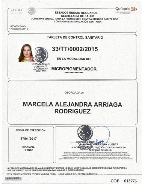 examen cofepris para dispensacion examen para certificacion de cofepris sin tatuajes 191