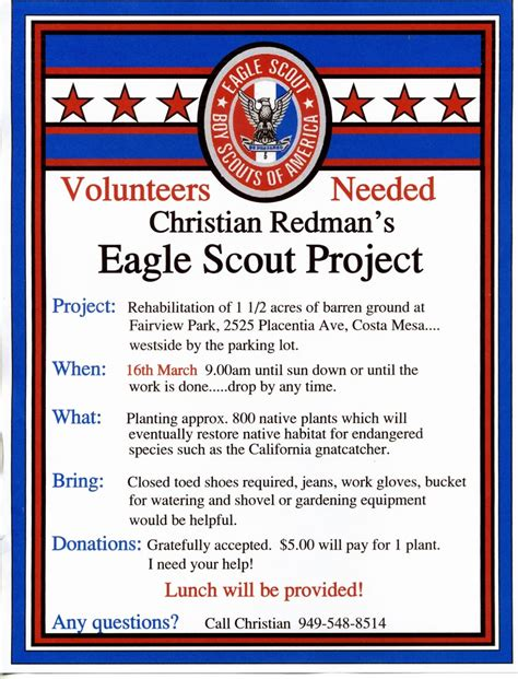 Eagle Project Flyer Google Search Eagle Project Flyers Pinterest Eagle Project Eagle Scout Flyer Template