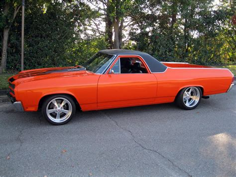 1970 CHEVROLET EL CAMINO CUSTOM PICKUP   162321