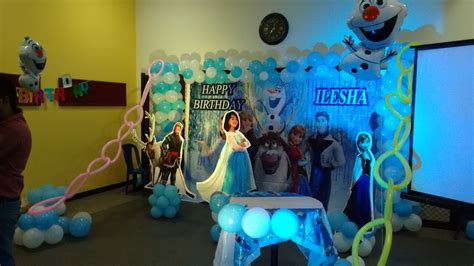 themed party organisers frozen theme birthday party organisers in bangalore